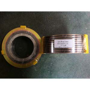 ANSI B16.20 Spiral Wound Gaskets, DN80, PN20, SS304 Inner Ring, CS Out Ring