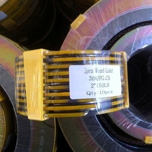 Carbon Steel Spiral Wound Gaskets, SS304 Hoop, PN20, DN50