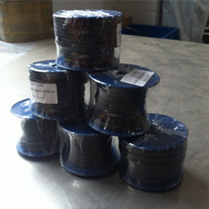 Carbonized Fiber Gland Packings, 6.4mm, 6.4mm, 3.63 Meter Per Roll