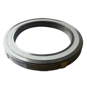 SUS 304+Asbestos Spiral Wound Gasket With Outer & Inner Ring