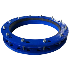 Ductile Iron Pipe Flange Adaptor, DN700, PN16, Epoxy Coating
