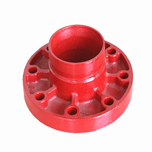 Flange Adaptor, Ductile Iron, ASTM A536, 65-45-12, DN80