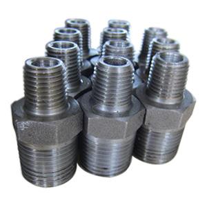ASTM A105 Hexagon Nipple, ASME B36.10, DN8 X DN15, PN400, NPT End