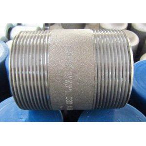 ASTM A106 GR.B Nipples, DN50, DN80, SCH 80, TBE Ends