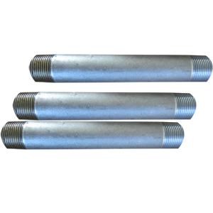 ASTM A106 Grade B Pipe Nipple, ANSI/AMSE B36.10, DN25, SCH 80