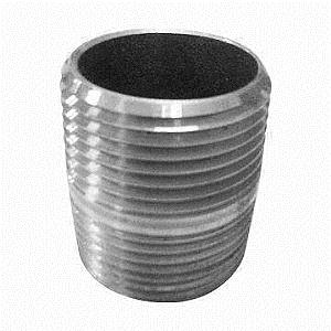 Carbon/Stainless Steel Pipe Nipple, A105, A182, SS304, SS316