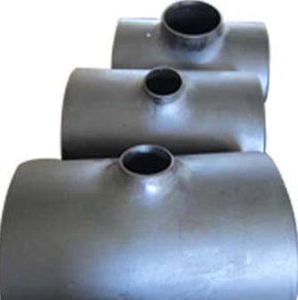 ANSI B16.9 Reducing Tee, ASTM A234 Grade WPB, DN600 X DN150, SCH 40