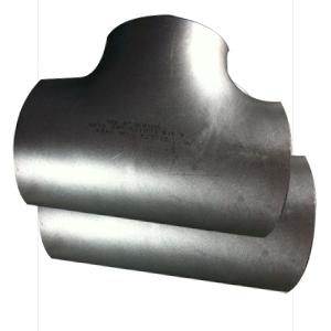 ANSI B16.9 Seamless Equal Tee, Duplex-SS, ASTM A815 UNS-S31803