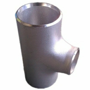 ANSI B16.9 Seamless Reducing Tee, ASTM A403 WP316L, DN80 X DN50