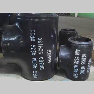 ASME B16.9 Seamless Equal Tee, ASTM A234 WP11, SCH 120, DN350