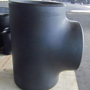 ASME B16.9 Seamless Straight Tee, ASTM A234 WPB, DN300, SCH 60