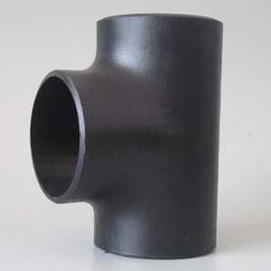 ASTM A234 WPB Seamless Equal Tee, Carbon Steel, ANSI B16.9, DN150