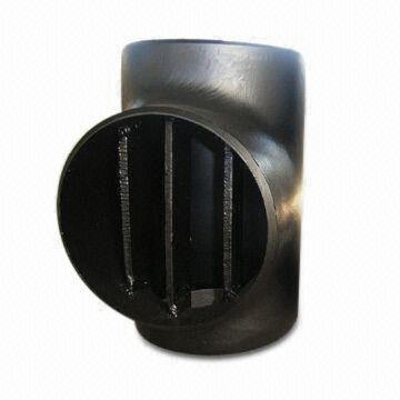 Carbon/Stainless Steel Barred Tee, ANSI/ASME B16.9/MSS-SP-75/43