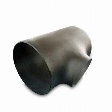 Carbon/Stainless Steel Reducing Tee, DN15 to DN1800, SCH 5 to SCH 160