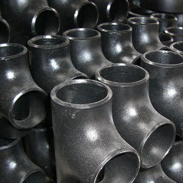 Carbon Steel Equal, Reducing Pipe Tee, ANSI, ISO, JIS and DIN