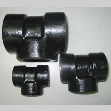 Carbon Steel Equal Tee, ASTM A105, F304, F316, F304L, F316L