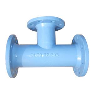 Ductile Iron Flanged Tee, ISO 2531, BS EN 545, DN50-DN2000, PN 16