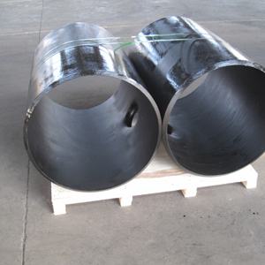 MSS SP 75 Weld Extruded Tee, A860 WPHY 60, DN650 X DN150, 20mm THK