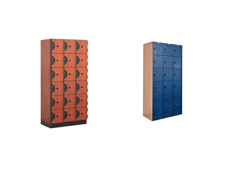 6 Tier Plastic Locker