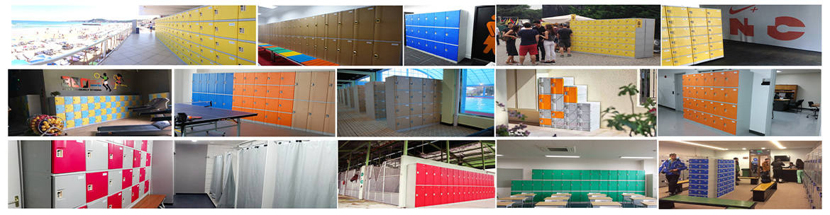 Customer DIY ABS Plastic Locker