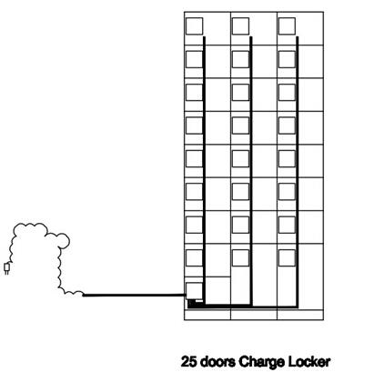 Charging Locker Wiring Diagram