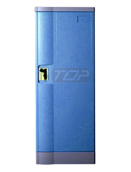 ABS Plastic Double Tier School Locker, Multiple Locking Options
