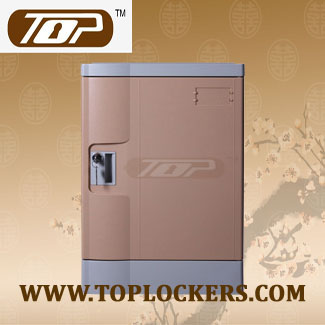 Four Tier ABS Plastic Locker, Multiple Locking Options, Rust Proof