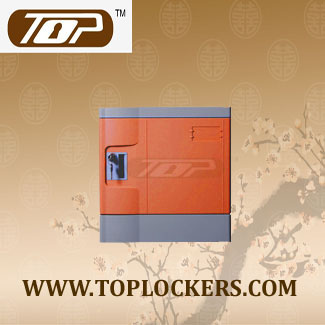 Six Tier ABS Plastic Club Locker, Multiple Locking Options, Rust Proof