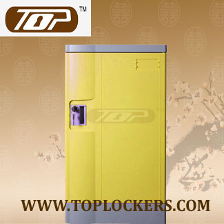 ABS Plastic School Locker, Strong Lockset for Security, Rust Proof