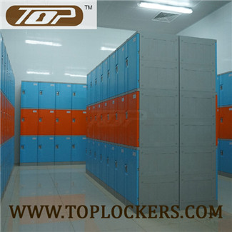 Triple Tier ABS Plastic Locker, Smart Designs, Strong Lockset