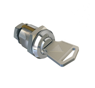 Zinc Alloy Die Cast Wafer Flat Key Cam Lock, Clip Instead of Nut