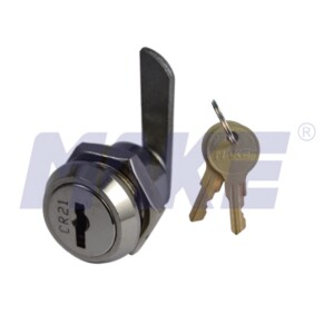 Zinc Alloy Flat Key Cam Lock, Half Cam, Key Combination 500