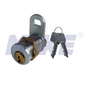 Brass Bullet Cam Lock, Dimple Key System, Nickel Plated