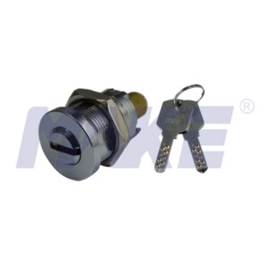Zinc Alloy, Brass Vending Lock Cylinder, Spindle Nut with Line Groove
