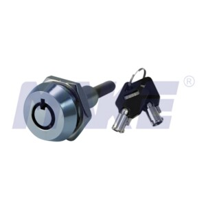 Zinc Alloy, Brass Vending Lock, Shiny Chrome, Spindle with Inner Thread