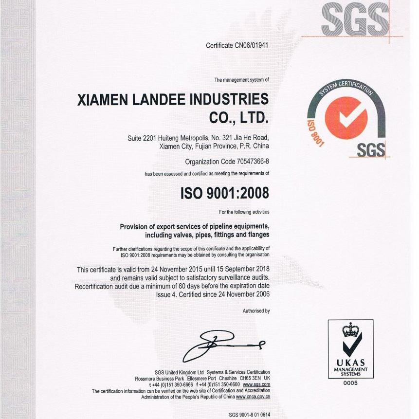 Landee Certificates