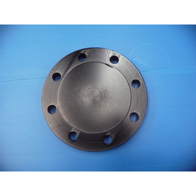 4 Inch Blind Flange, ASTM A105, 150 LB, Raised Face End