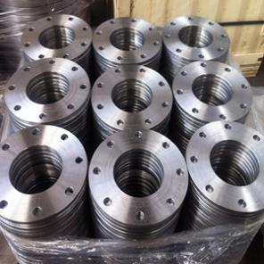 ASTM A105 Plate Flange, EN1092-1 Type 01, Class 120, 6 Inch