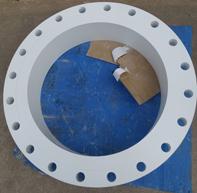 上管法兰,ASME B16.5,ASTM A105,20英寸的环氧树脂涂布泥釉