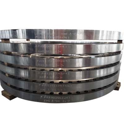 带焊接底漆的滑盖式法兰,ASME SA-516标准70级,定制