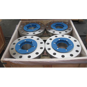 ASTM A182 F51 Welded Neck Flange, 8IN, CL 900, SCH 80