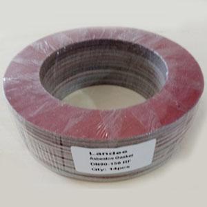 Compressed Asbestos Fiber Gasket, 3 Inch, 150 LB, RF Ends