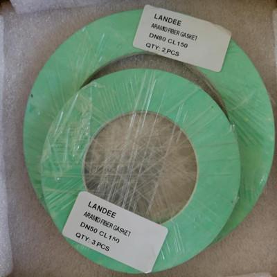 环芳族聚酰胺纤维垫圈,150 LB,DN80,1.6 MM THK,CNAF