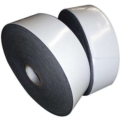 White Pipe Wrap Tape, PE, Anti-corrosion, T 0.5mm, W 50mm, L 50m
