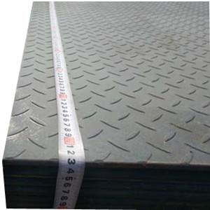 A36 Checkered Plate, 3/8 Inch X 8 Feet X 4 Feet