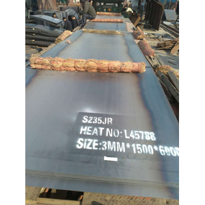 S235JR Steel Sheet,  1500 X 6000 X 3mm
