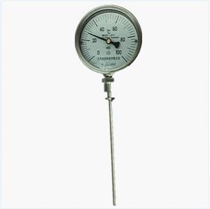 SS316 Temperature Indicator, 1/2 Inch, 0-300F, MNPT