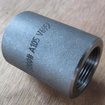 1 Inch Coupling, ASTM A105, ASME B16.11, 3000 LB