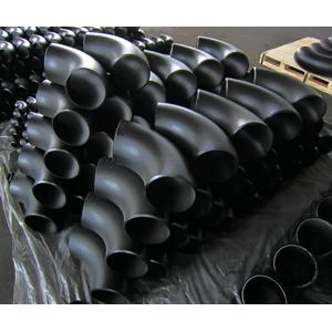 ASME B16.9 SMLS Elbow, 90D, ASTM A234 WPB, 6 Inch, SCH-STD