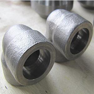 ASTM A182 F304H 90° Elbow, ANSI B16.11, 1/2 Inch, 3000LB, SW